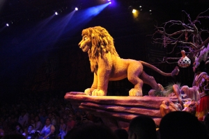 Simba at the Lion King Performance